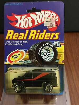 Hot Wheels Vintage Real Riders Baja Breaker In BP. Black With Gray Hubs