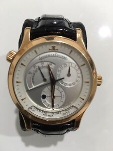 Jaeger LeCoultre Master Geographic Rose Gold Q1422420 circa 2005 Horningsea Park Liverpool Area Preview