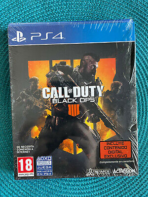 SONY PS4 - CALL OF DUTY BLACK OPS 4 - NUEVO -...