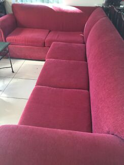 SOFA bonus matching recliner sofa  Croydon Burwood Area Preview