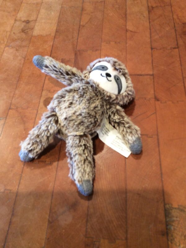 """Cloud Island Small Plush Sloth Rattle Baby Lovey 7"""" Target GC Brands"""