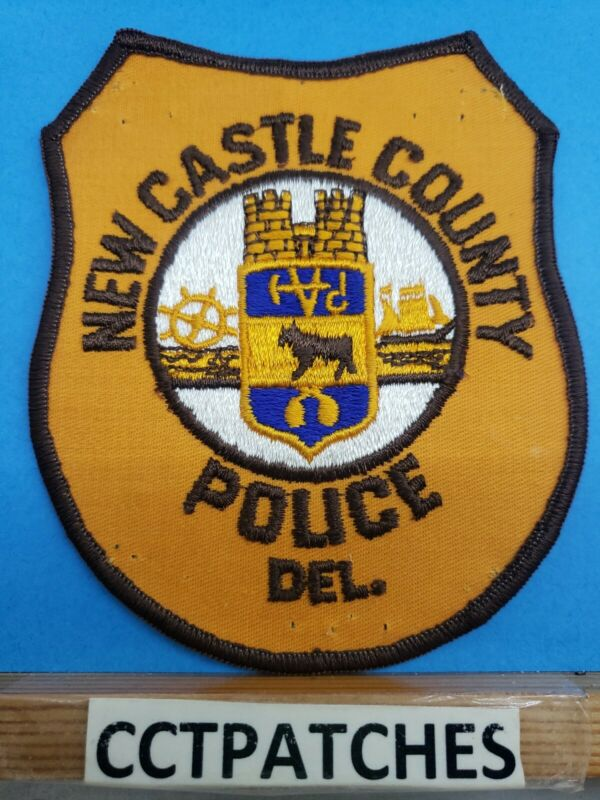 NEW CASTLE COUNTY, DELAWARE POLICE SHOULDER PATCH