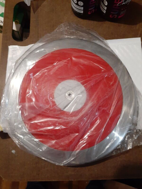 RED - 85% Rim Weight Discus Size: 1.6 KG High School Boys - FREE S&H!