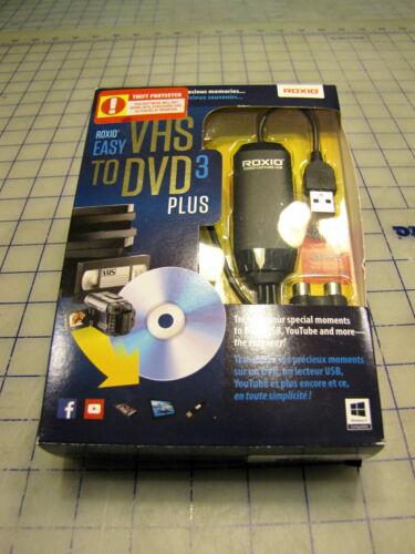 EASY VHS TO DVD 3 PLUS ROXIO