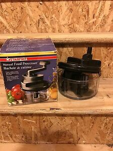 Starfrit manual food processor