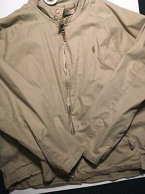 Polo Ralph Lauren Men's XL Khaki Classic Jacket FREE SHIPPING