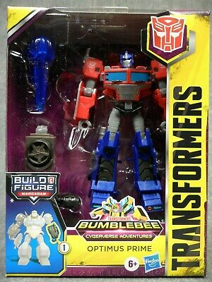 Transformers NEW * Optimus Prime * Deluxe Cyberverse Adventures Bumblebee