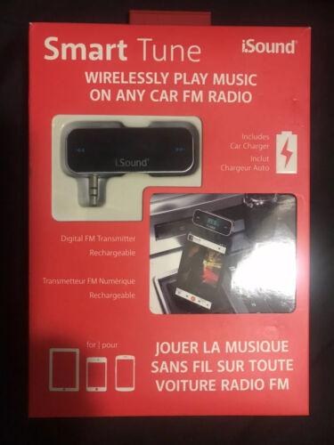 NEW! iSOUND Smart Tune FM Transmitter #1639