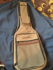 Electric guitar carrying case