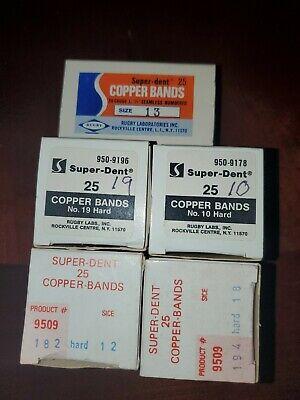 Super-dent Copper Bands No 3010 812 1713 418 419