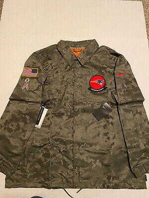 Nike Mens STS New England  Patriots Salute To Service Lightweight Jacket Sz 2XL
