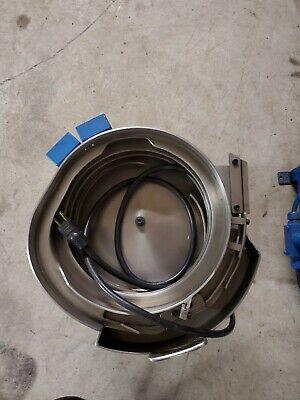 10 Rodix Stainless Steel Vibratory Bowl Feeder 120 Volt Cw 10