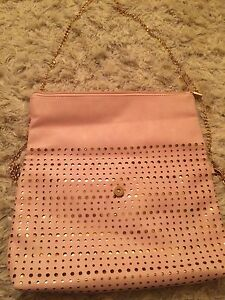 Pink and gold purse New