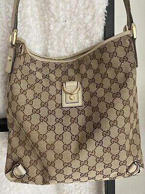 Gucci GG Crossbody Messenger Bag - Vintage