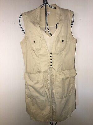Quirky HOSS INTROPIA ARENA SAFARI Layered Summer Dress 12 (40) Ex Con RRP £250