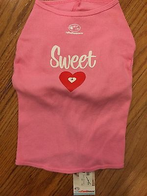 "dog/pet shirt, Pink, XL ,by Ruff Ruff and Meow, ""Sweet Heart"""