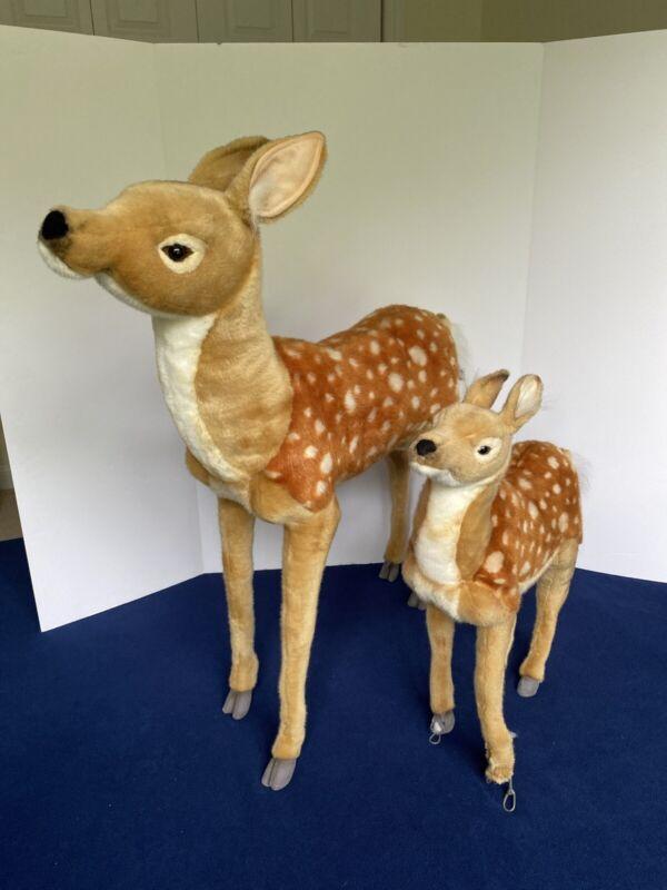 Hansa Bambi Deer Standing Stuffed Animal Plush Toys #3433  **LOCAL PICKUP ONLY**
