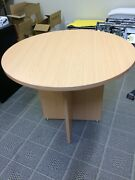 Wooden Round Table 90cm diameter Brookvale Manly Area Preview