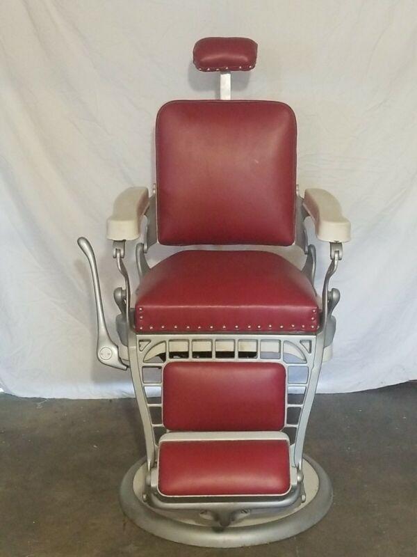 Emil j. Paidar Barber or tatu Chair Made In Chicago