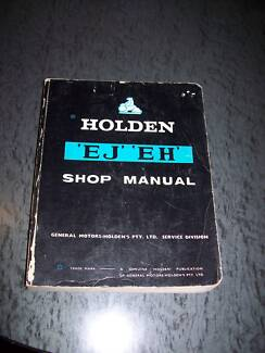 Workshop Manual for an EJ and EH Holden