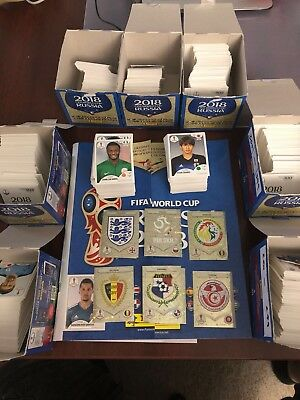 Panini Fifa World Cup Russia 2018 Stickers Pick 10 For  3 5   20 For  7