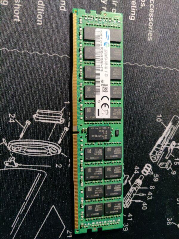 32GB SAMSUNG 2RX4 PC4-2133P  ECC REG SERVER RAM (TESTED WORKING)