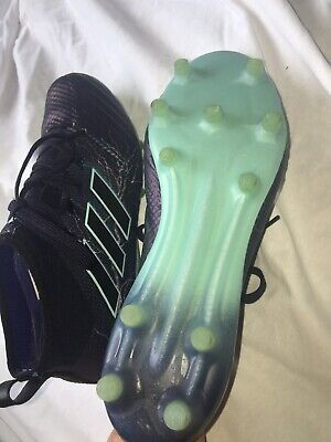 ADIDAS FOOTBALL BOOTS PURPLE SIZE 6.5 USED ONCE CONTROLSKIN