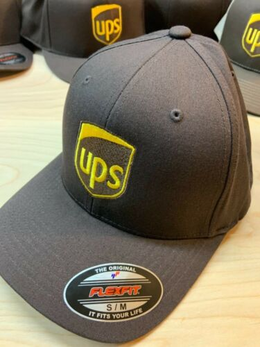 Flexfit Yupoong UPS HAT Brand New Fitted Embroidered