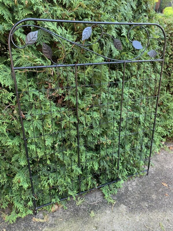 LARGE Steel Garden Fence Panel Gate Grate Antique Architecture Salvage