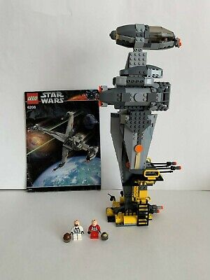 Lego Star Wars 6208 B-Wing Fighter - 100% Complete