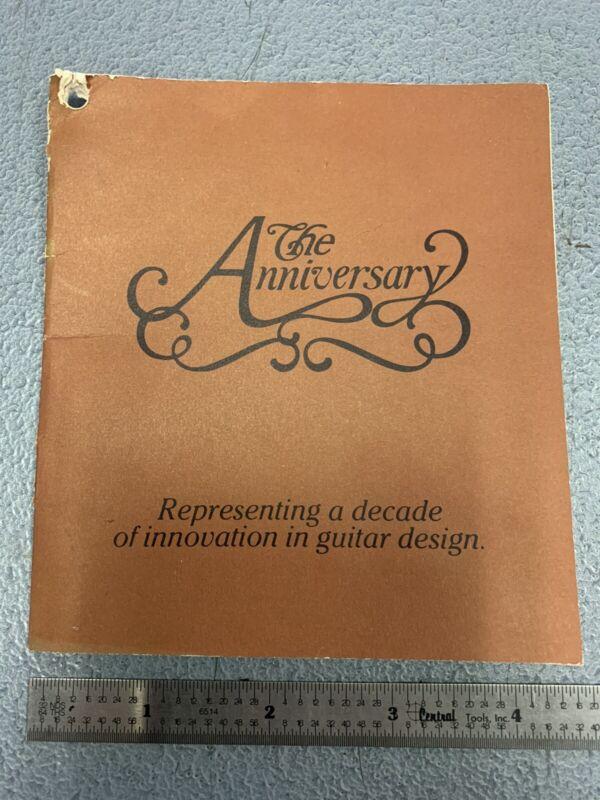 Vintage Ovation Guitar 1657-7 Original Owners Manual