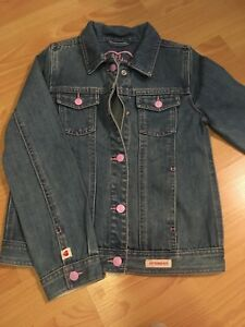 Hadley Girls size 8  jean jacket