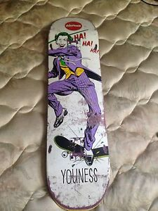 Almost joker skateboard