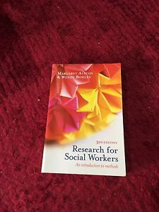 Research for Social Workers 3rd Edition Yandina Maroochydore Area Preview
