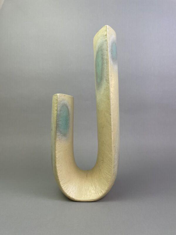 Double Barreled Ikebana Vase