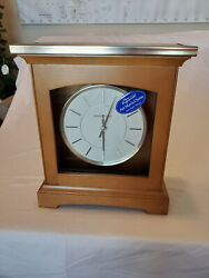 Howard Miller Urban Mantel clock 630-159 Dual Chime New No Box - Display