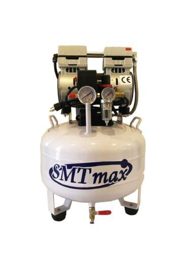 New 1 HP, 8 Gallon, Medical Noiseless & Oilless Dental Air Compressor 110v