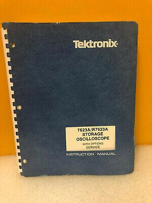 Tektronix 763ar7623a Storage Oscilloscope Instruction Manual