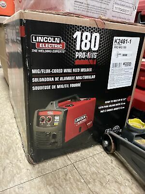 Lincoln Electric K2481-1 Pro Mig 180 Welder Migflux-cored Wire Feed 230 Volt