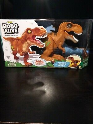 Zuru ROBO ALIVE Attacking T-REX Trex Real Life Robotic Pets NEW AND SEALED