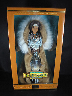New 2002 Spirit of the Earth Limited Edition Native American Barbie Doll 50707