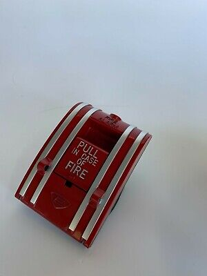 Edwards Est 270a-spo Non-coded Fire Alarm Manual Pull Station Box No Rod