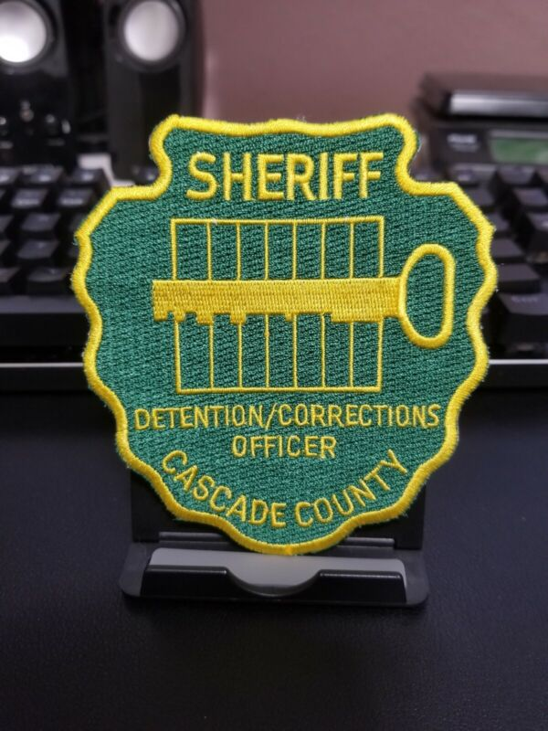 Cascade County Sheriff Montana MT Police Corrections Patch