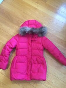 Girls' size 10 Gap down puffer parka