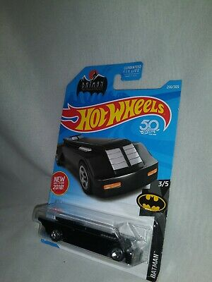 Hot Wheels Batman The Animated Series Batmobile Black 2018