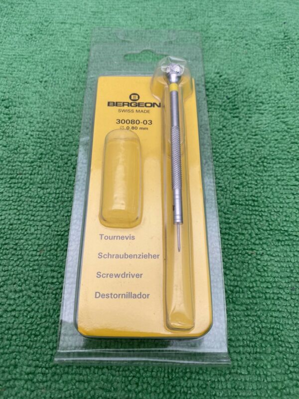 Bergeon 30080-03 0.80mm Screwdriver