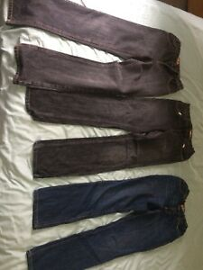 Various Boys Jeans Like New - Size 14