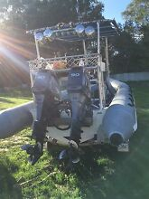 SAS Millitary Rib 6.2m twin Yamaha 90hp Perth CBD Perth City Preview