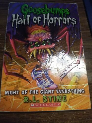 Goosebumps Hall Of Horrors Night Of The Giant Everything  - $2.30