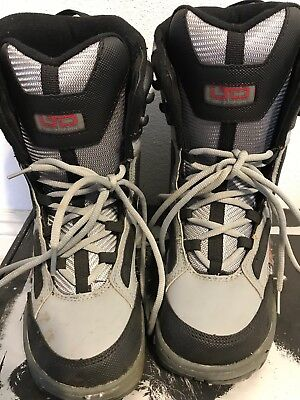 Ltd Snowboard Boots - USED LTD Stratus Linerless Youth Snowboard Boots Shoes Size 6 US 38 EU 5 UK